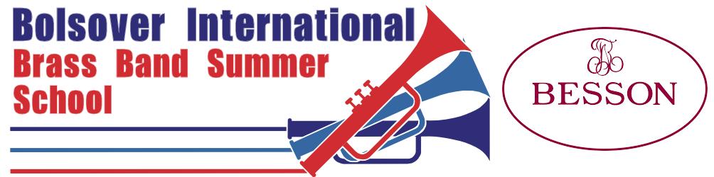 Bolsover International Brass Band Summer School